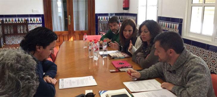 Diputación de Cádiz analiza los proyectos de eficiencia energética de la provincia.