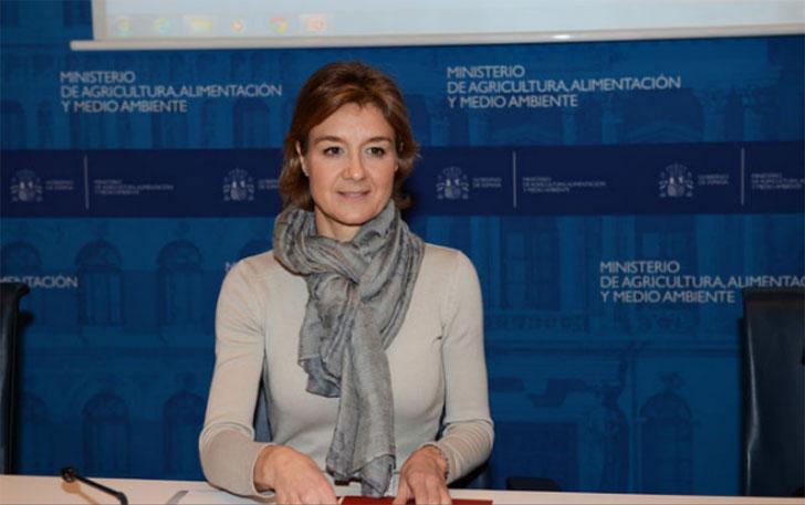 Ministra de Agricultura, Isabel García Tejerina.