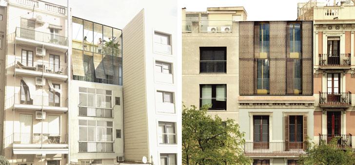 Nuevas viviendas del edificio.
