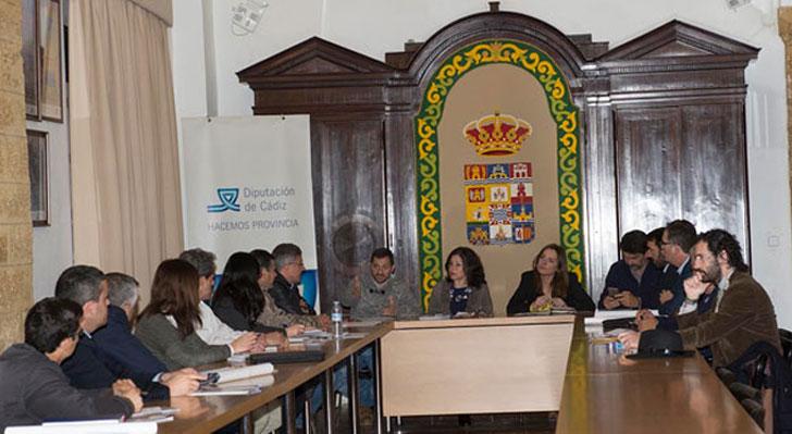 Diputación de Cádiz y Ayuntamientos.