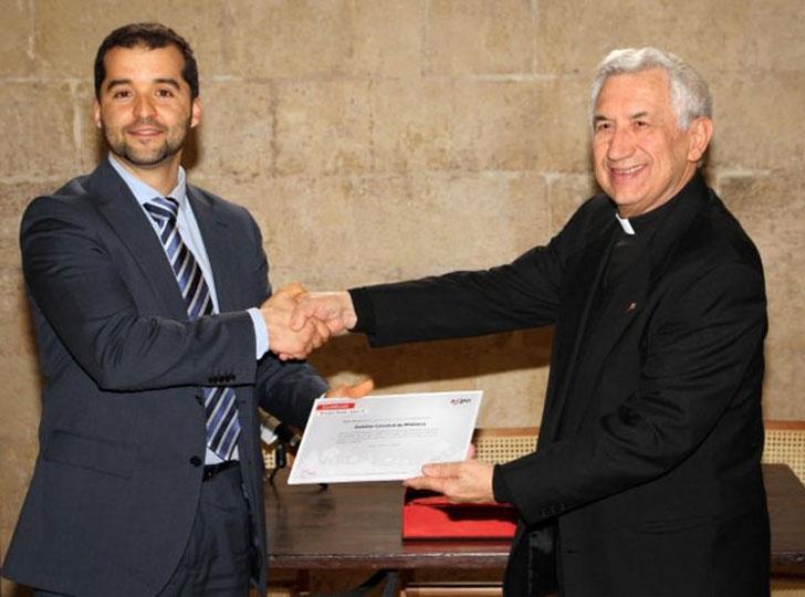 La Catedral de Mallorca recibe el certificado Axpo.
