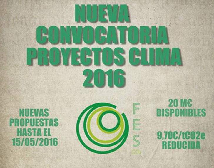 Proyectos Clima 2016.