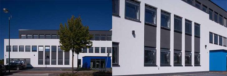 VEKA SOFTLINE 70 MB instalado en un edificio en Dortmund, Alemania.