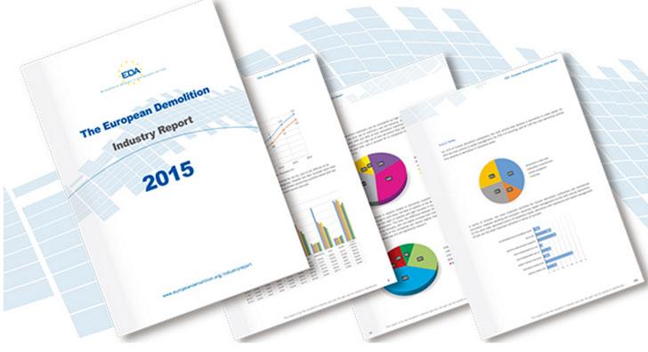 Informe del sector de la demolición en Europa 2015.