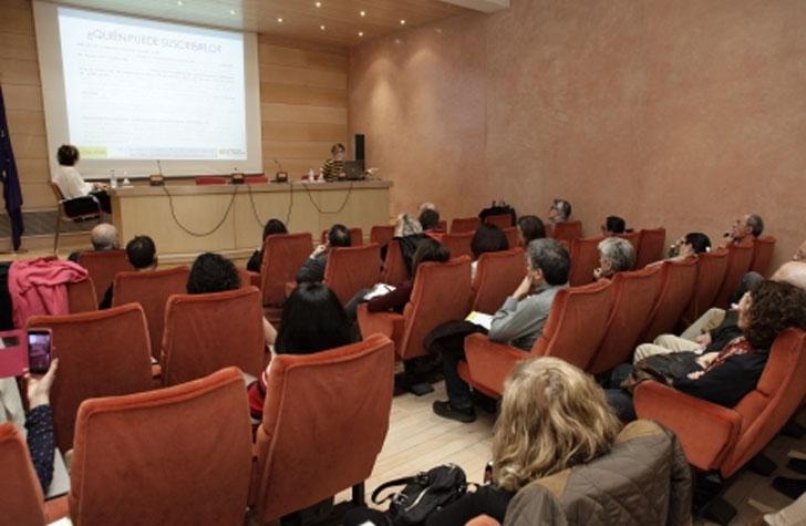 Jornada informativa sobre subvenciones IEE.