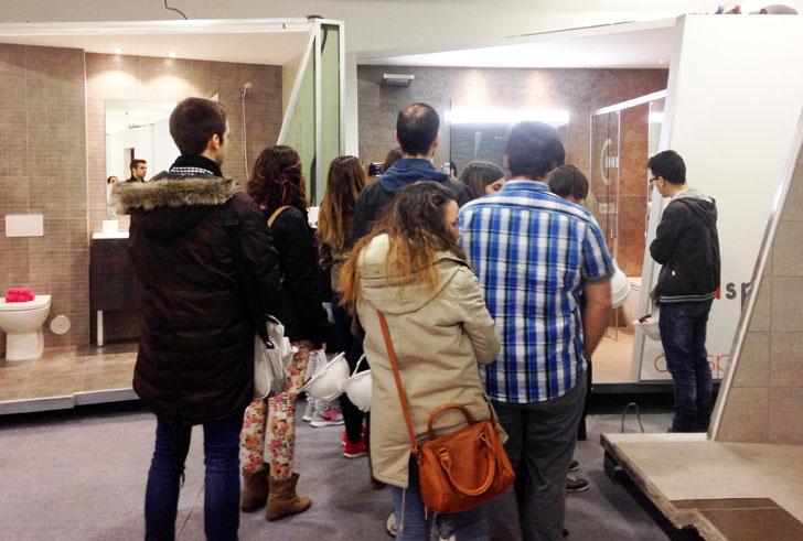 Visita al Aula Vía Célere en la UPM.