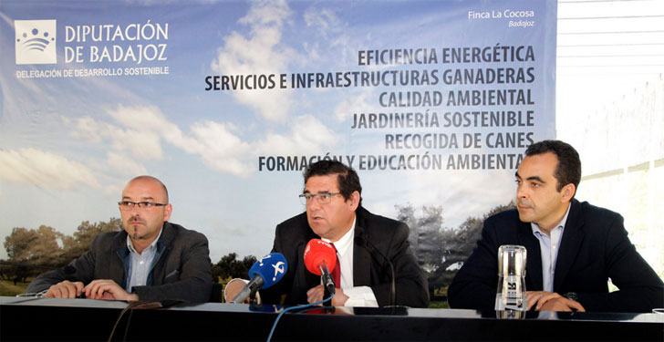 Diputación de Badajoz.