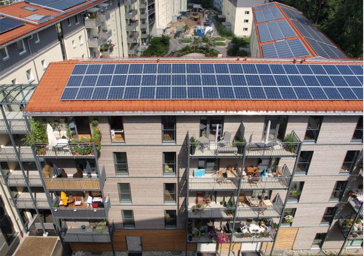 Edificio en el que se aplica la Directiva de Eficiencia Energética.