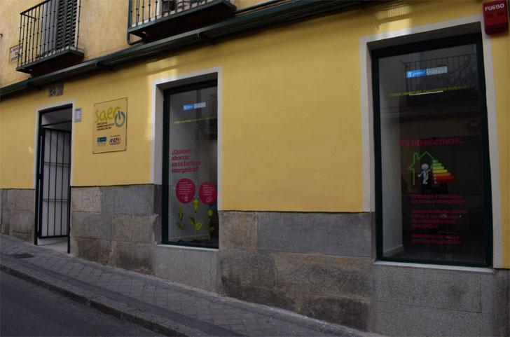 Oficina de Rehabilitación Energética en Madrid (SAER).