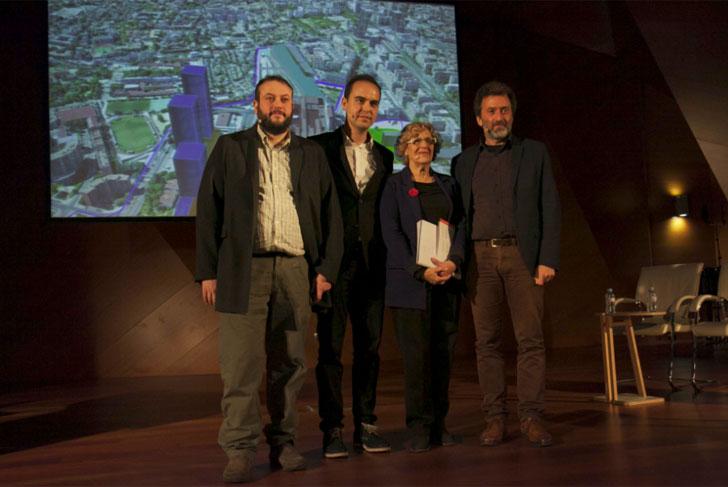 El Ayuntamiento presenta su propuesta técnica para la Operación Chamartín.