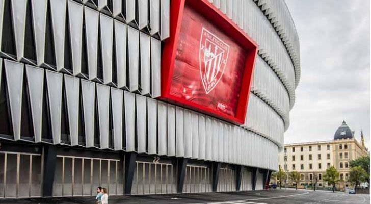 Estadio de San Mamés.