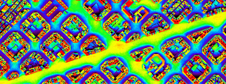 Huellasolar facilita datos de radiación urbana.