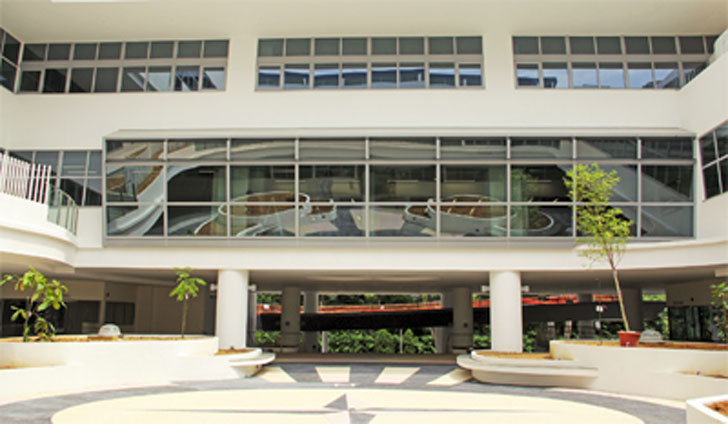 Edificio de Singapur de United World College South East Asia.