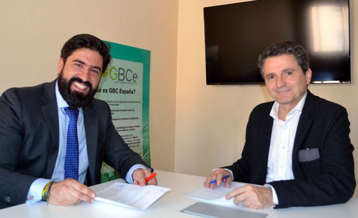 GBCe y Construtec firman un acuerdo de desarrollo sostenible.