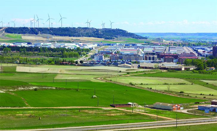 Integración de renovables en el conjunto urbano.
