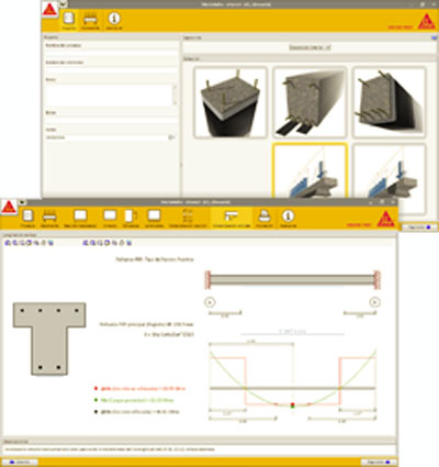 Sika CarboDur Design Software.
