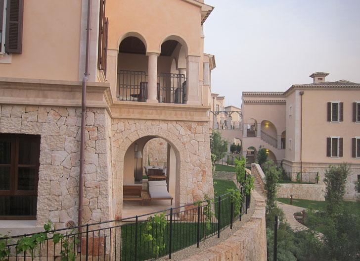 Fachadas de Park Hyatt Mallorca.