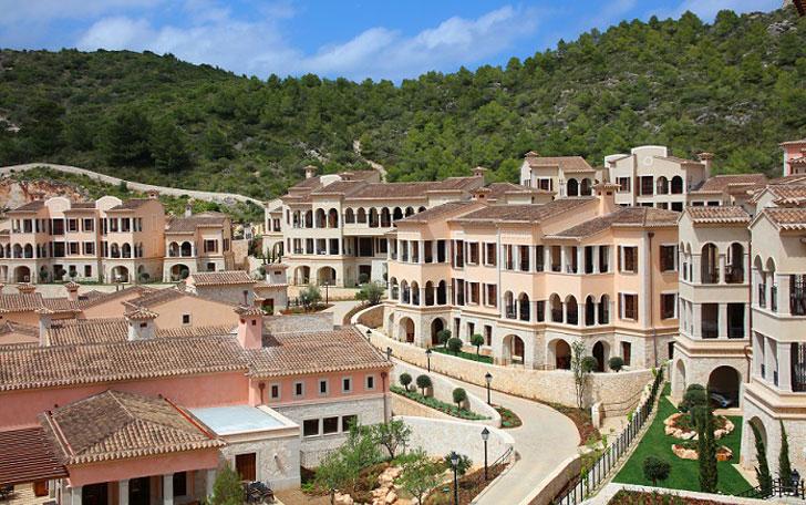 Oreografía de Park Hyatt Mallorca.
