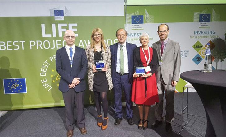 Proyecto EDA-Renov obtiene el premio LIFE Medio Ambiente.