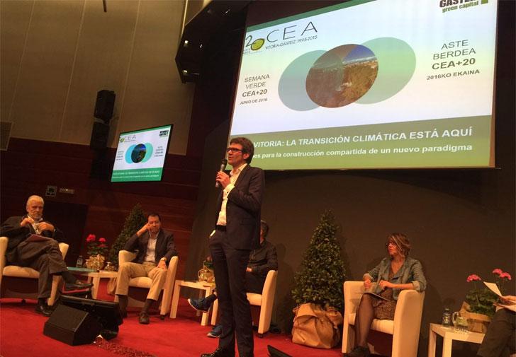 Vitoria-Gasteiz analiza el papel de la ciudad ante el Cambio Climático.