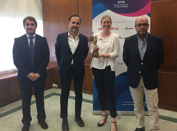 LafargeHolcim consigue el Premio a la Mejor Práctica Resposable.