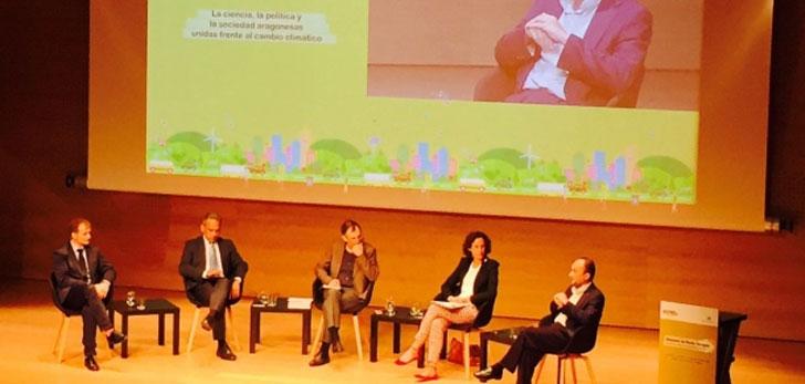 Aragón combatirá el cambio climático en la Región.