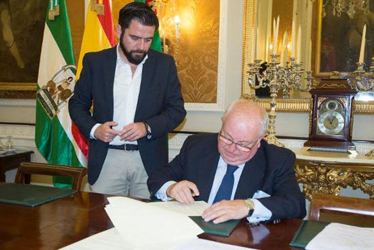 Acuerdo entre FAEC y la Diputación a favor de la construcción sostenible.