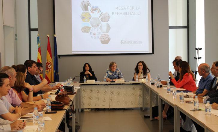 Valencia constituye su Mesa de Rehabilitación.