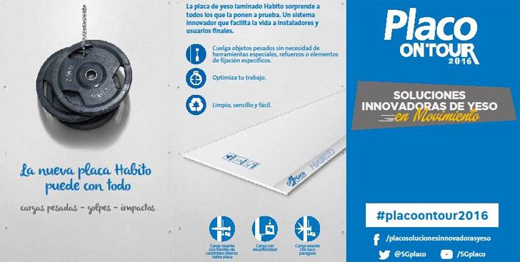 Jornada sobre innovaciones en yeso Placo.