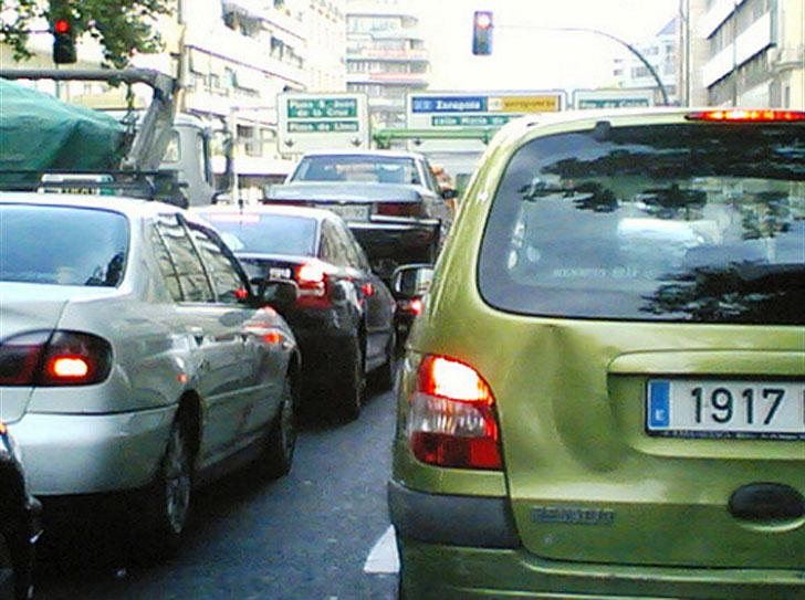 Pamplona registrará el tráfico en las avenidas.