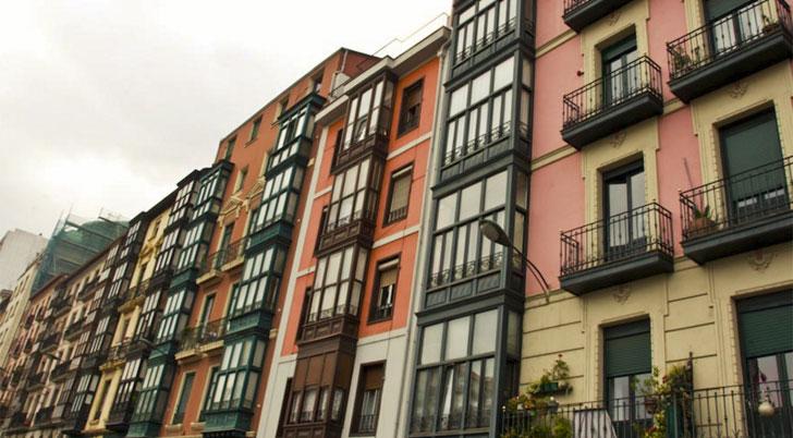 Edificio en el que aplicar el servicio Rehabilita&Confort de Gas Natural Fenosa.
