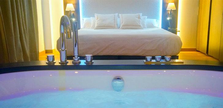 Grifería del hotel MB Boutique de Nerja  con eficiencia hídrica.