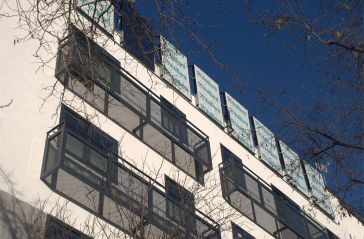 Fachada del edificio de Ciudad de los Ángeles.