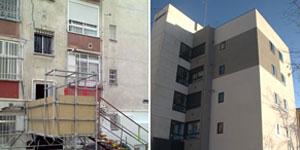 Rehabilitación de un edificio en Madrid bajo el Proyecto iNSPiRe