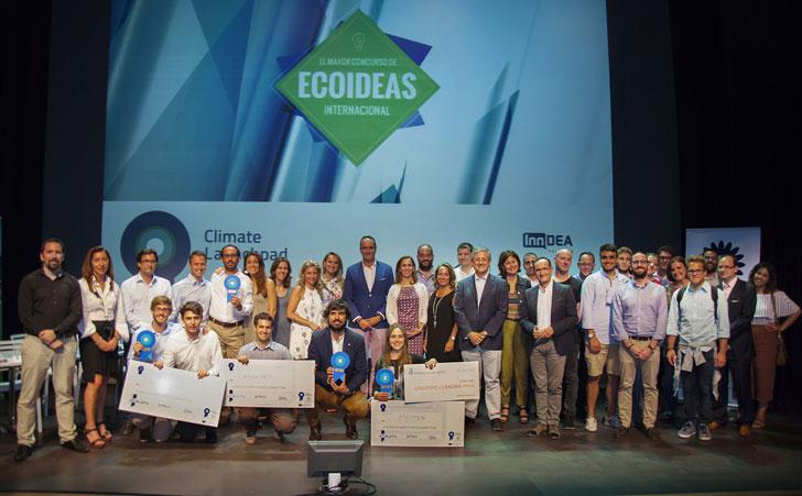 Climate-KIC premia el uso de residuos agroalimentarios empleados como material de construcción.