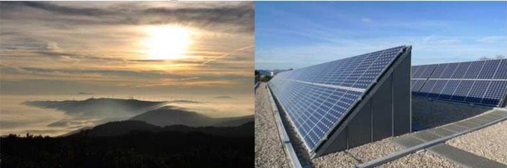 Fotovoltaica, una de las claves del Plan Estratégico Horizonte 2030 de Navarra.