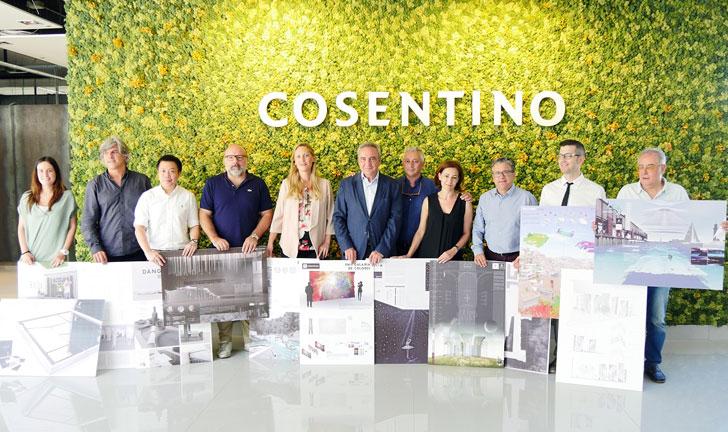 Miembros del Jurado de la 10 edición de Cosentino Design Challenge.