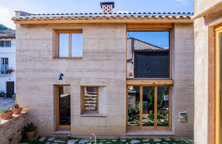 Casa tapial de Ayerbe incluida entre los 40 finalistas de Terra Award 2016.