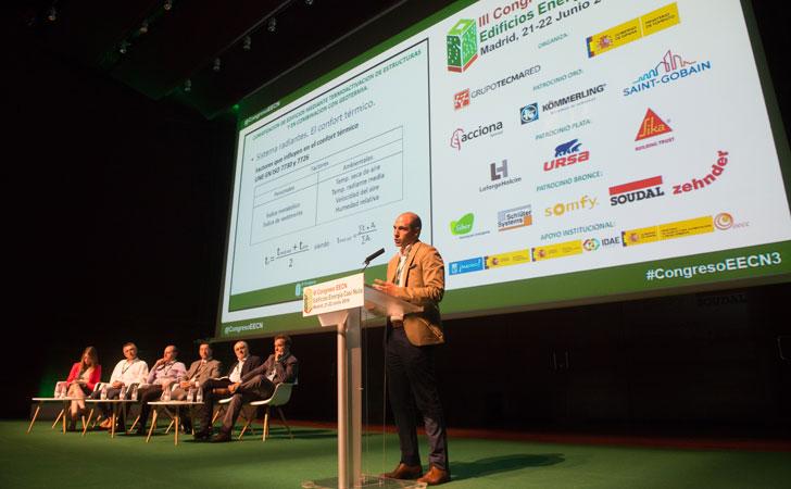 Iván Rogelio Castaño, de Uponor, habla sobre climatización de edificios en III Congreso Edificos Energía Casi Nula.