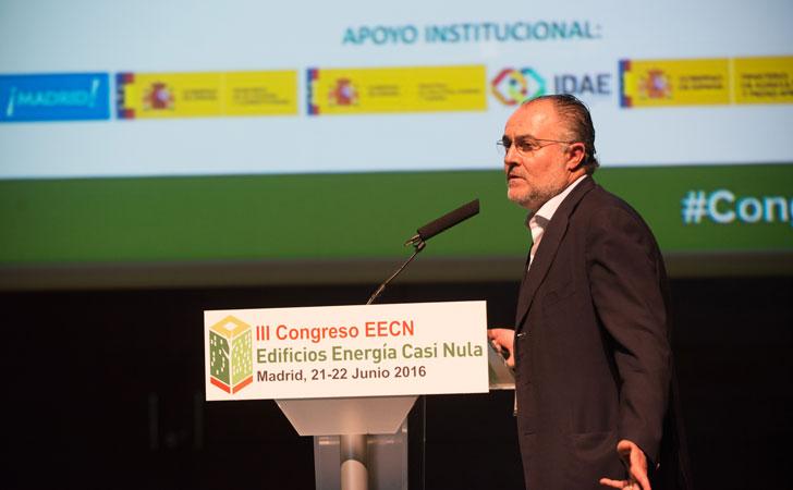 Ramón Ruiz-Cuevas, arquitecto de Luz y Espacio, abre el Tercer Bloque de Ponencias del III CongresoEdificios Energía Casi Nula.