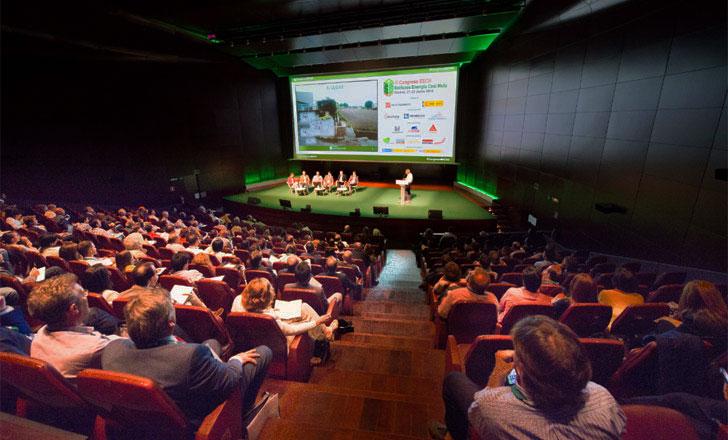 Vista general del auditorio del III Congreso Edificios Energía Casi Nula