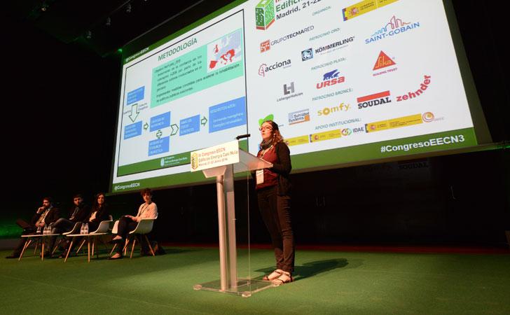Bloque de ponencias Joana Ortiz en III Congreso Edificios Energía Casi Nula