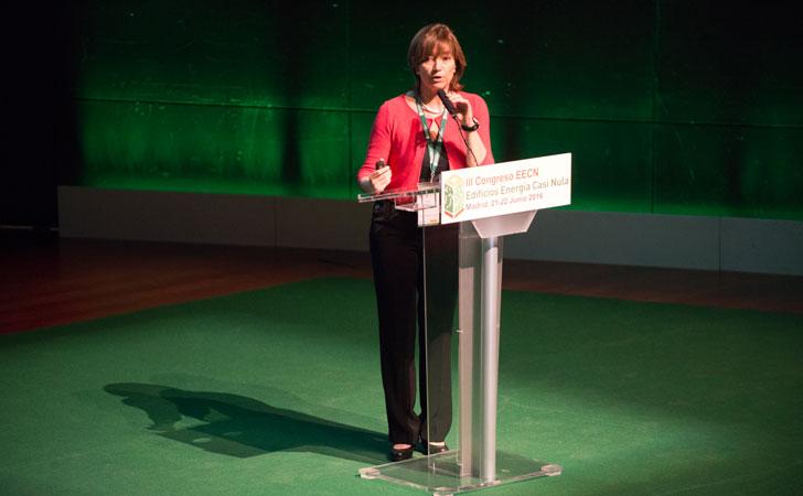 Anna Guanter durante su intervención en el III Congreso EECN.