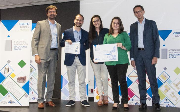 Entrega del I Premio de Innovación en Soluciones Constructivas de Placo.