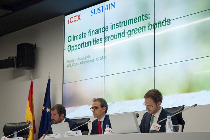 El ICEX informa sobre los instrumentos de inversión climática.