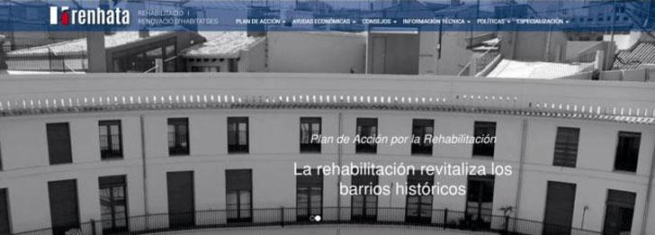 El Consell e IVE acuerdan fomentar la calidad en edificación mediante la web RENHATA.