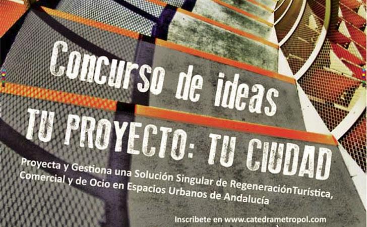 Concurso de Ideas de la Universidad de Sevilla para espacios urbanos andaluces.
