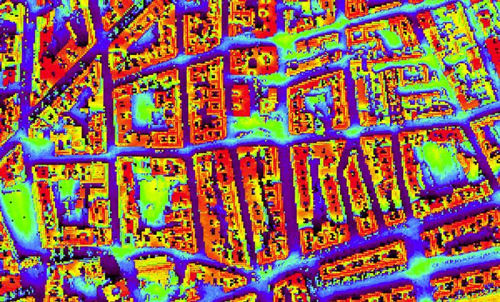 Mapa de radiación de Ciudad Real de Huellasolar.