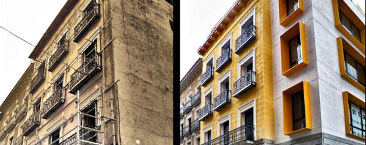 La Comunidad de Madrid invierte casi 30 millones en rehabilitación de edificios.