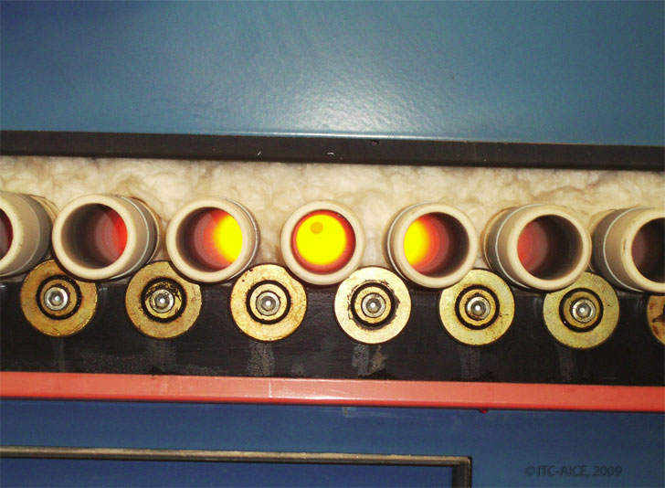Colaboración entre ITC e ITE para reducir el consumo energético en la fabricación de baldosas cerámicas.